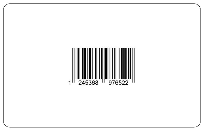 Karty z kodem kreskowym