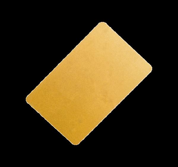 Karty plastikowe złote