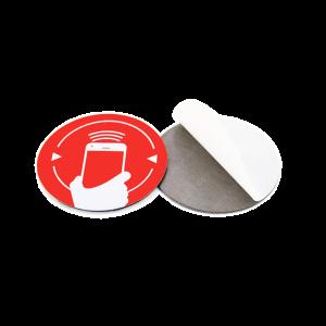 Naklejka NFC anti metal Ntag213