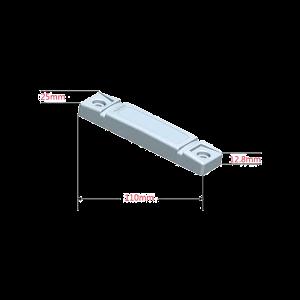 Tag UHF anti metal IMPINJ MONZA M4QT ABS