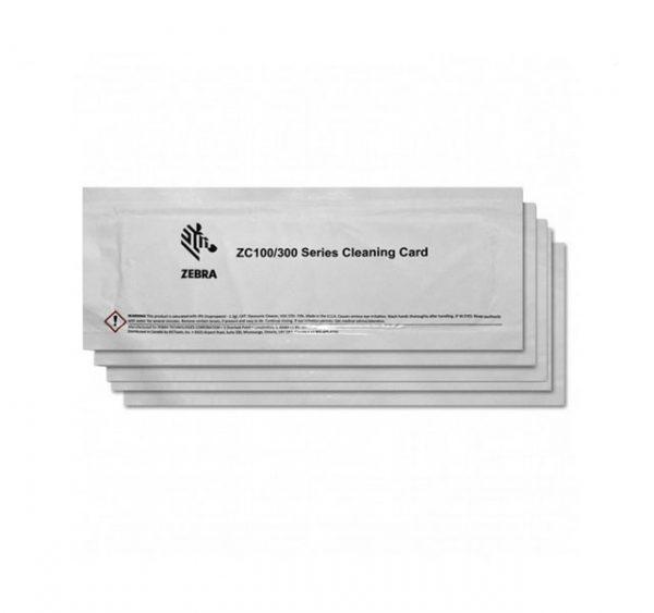 Karty czyszczące Zebra